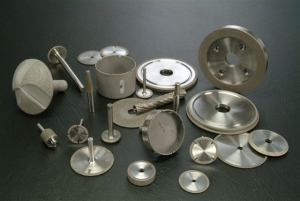 Direct Plated Single Layer Diamond and CBN Wheels