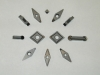 Array of Diamond Cutting Tools, PCD and CVD